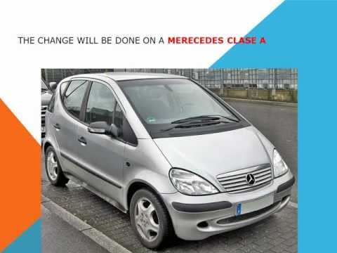 How to replace the air cabin filter   dust pollen filter on a Mercedes Clase A