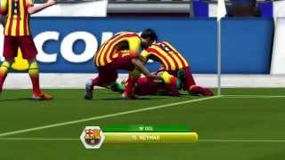 Fifa 2014 - Cruzeiro vs Barcelona gameplay comentado em português gols , dribles , jogadas e muito mais . Jogue League of Legends de GRAÇA aqui: ...