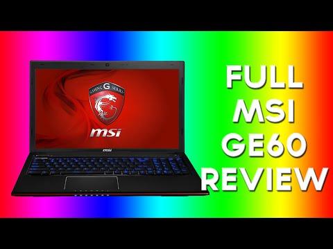 *Best Laptop* MSI GE60 Review (Gaming Laptop)