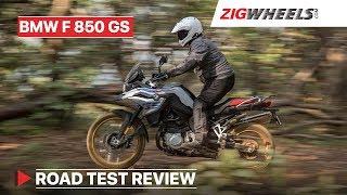 7. BMW F 850 GS Review | Better than Triumph Tiger? | ZigWheels.com