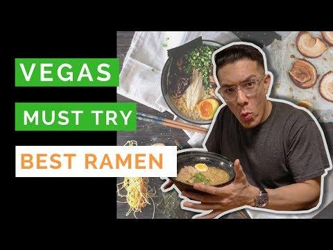 Best Ramen in Las Vegas - MUST TRY