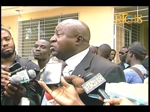 La séance d'audition des cas de contestation des résultats partiels des élections législatives