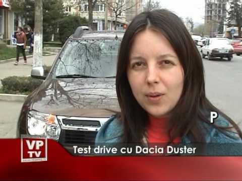 Test drive cu Dacia Duster