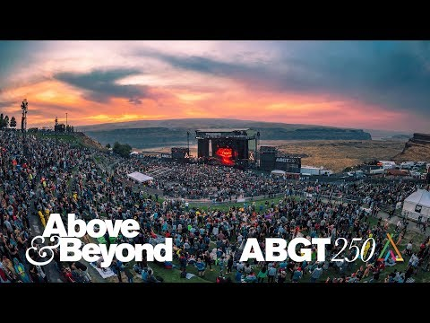 The #ABGT250 Aftermovie: Above & Beyond at The Gorge Amphitheatre, WA 2017 видео