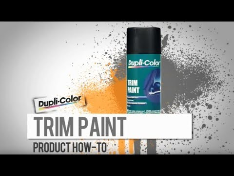 Car Trim Paint How-To from Dupli-Color