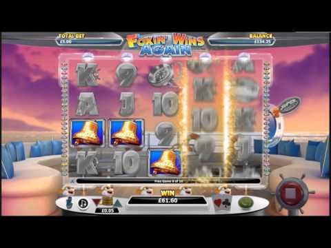 Big Slot Win - Free spin feature retriggered at Foxin Wins Again slots machine
