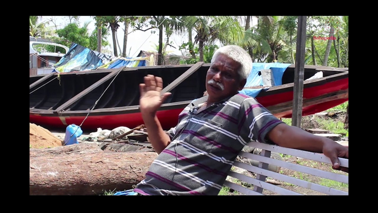 Boatbuilding in Ponjikkara: Interview with Simon D'Silva and K.A. Johnson