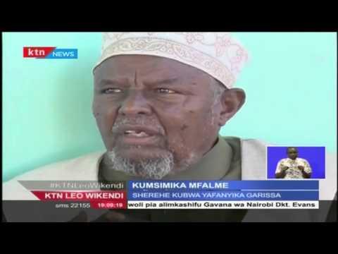 Sherehe ya Kumsimika mfalme Sultan Hassan Omar Shuriye