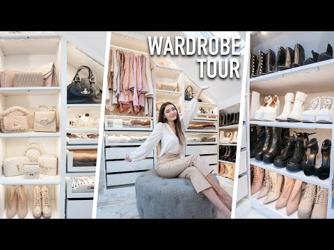 MY WALK IN WARDROBE TOUR! WHAT'S IN MY DRESSING ROOM!?