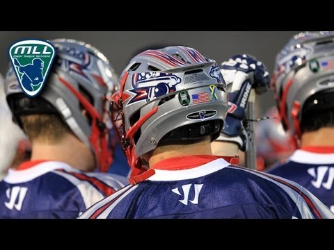 MLL All Acess: Hamilton at Boston Week 2_Lacrosse, NLL National Lacrosse League. NLL's best of the week