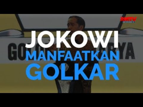 Jokowi Manfaatkan Golkar