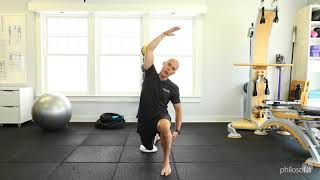Hip Flexor (psoas) Stretch