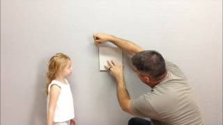 """This is the first of a series of videos I will be making to show what I feel is the simplest and most cost effective way to complete that """"DIY TO DO"""" list. It  is not the best way but its an easy way to fix a hole in the wall without paying a lot of money and without having to take  all the extra steps.. I know its a long video but I just couldn't edit out all the outtakes. It was just to cute!!"""