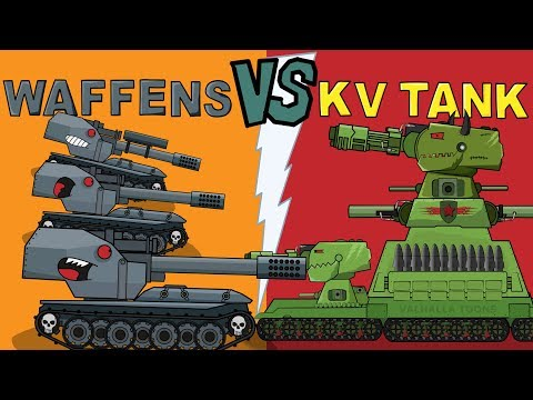 """Summer Battle""  Cartoons about tanks"