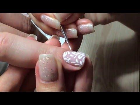 Дизайн ногтей песком фото