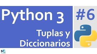 ¡Si te gusto el tuto, puedes donar! : https://www.paypal.me/mitocode/1Las tuplas y diccionarios son estructuras de datos de mucha utilidad en Python, en este tutorial veremos el uso básico de ellos y algunas consideraciones a tener en cuenta.Sígueme ;)http://www.mitocodenetwork.comhttp://www.facebook.com/mitocodehttp://www.twitter.com/mitocodehttp://www.google.com/+MitoCodehttp://www.github.com/mitocode21