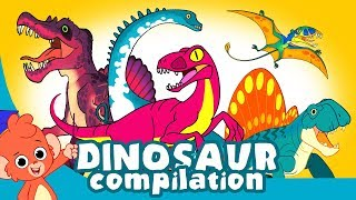 Video Learn Dinosaurs for Kids   Scary Dinosaur movie Compilation   Tyrannosaurus Velociraptor MP3, 3GP, MP4, WEBM, AVI, FLV Juni 2019