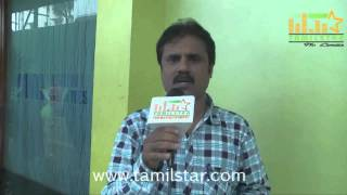 C  R  Ravikiraan at Kizhakea Uthitha Kathal Movie Team Interview