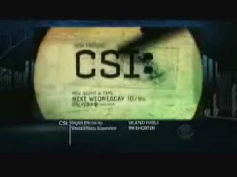 CSI: Crime Scene Investigation 12.03 (Preview)