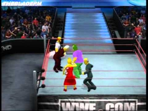 The Simpsons Royal Rumble Part 1 - SvR11 - TheBladePM - 22nd March 2011