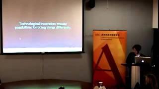 Annenberg Research Seminar - Anne Balsamo, USC