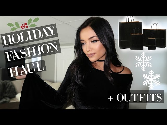 Holiday Fashion Haul Outfit Ideas Stephanie Ledda | AllMusicSite.com