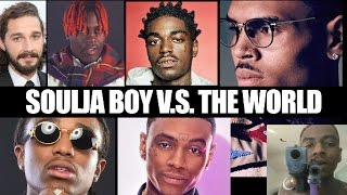 Soulja Boy Vs The World - Beef Compilation ft. Chris Brown, Quavo, Lil Yachty, Kodak Black and more