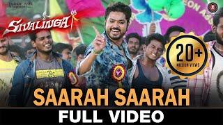 Download Lagu Saarah Saarah - Full Video | Sivalinga | Raghava Lawrencce & Ritika Singh | S. S. Thaman Mp3