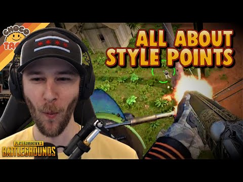 chocoTaco's All About Style Points Today - PUBG Solos Gameplay