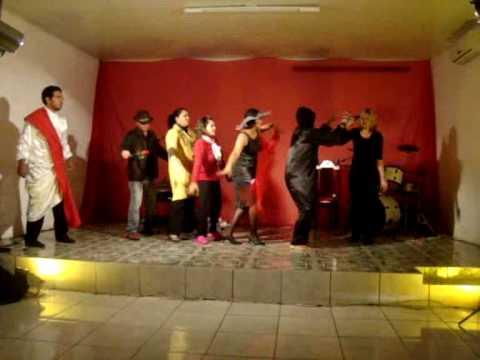 Teatro - IGREJA Quadrangular - General Câmara --- RS