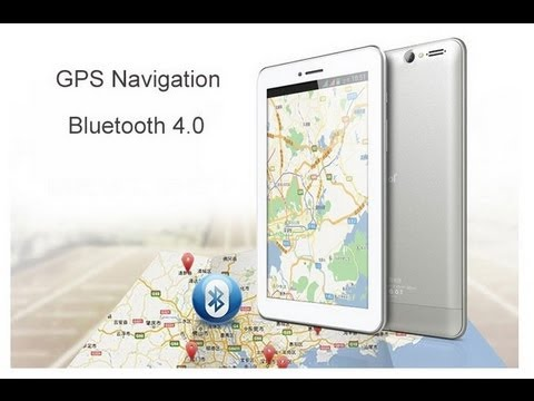 Tablet ainol AX1 bluetooth gps - unboxing and test