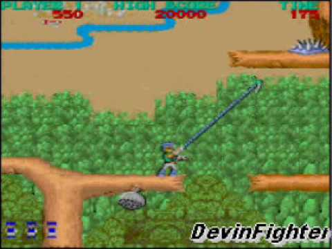 Bionic Commando Playthrough:Level 1