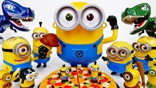 The Bigger Minion, The Better Minion~! This Pizza Is Ours - ToyMart TV