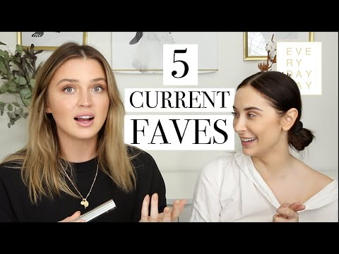 CURRENT 5 FAVE BEAUTY ITEMS W/ GINA 👯‍♀️