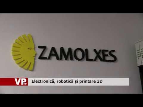 Electronică, robotică și printare 3D