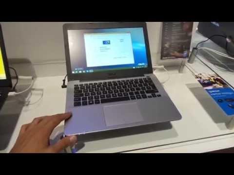 ASUS X302LA notebook bemutató videó