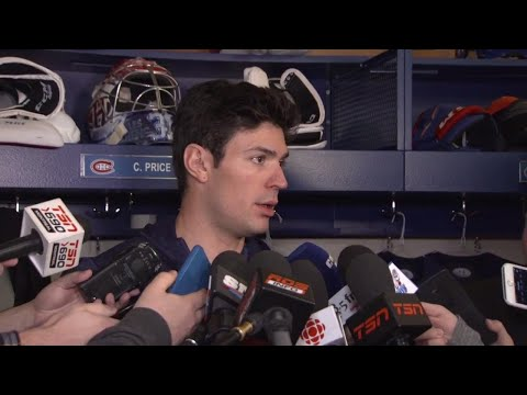 Video: Price says don't worry Canadiens fans, he'll be back soon