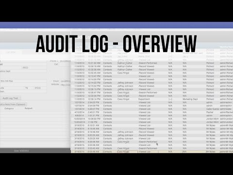 013 Audit Logs in FileMaker 14 - Overview Tutorial