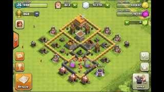 Clash Of Clans :- Base Timelapse!
