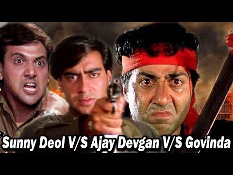 Top Action Movies Of Bollywood    Sunny Deol V/S Ajay Devgan V/S Govinda