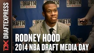 Rodney Hood - 2014 NBA Draft Media Day