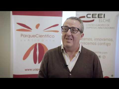 Joaquín Marhuenda del Parque Científico de Alicante en el Hub de Innovación Abierta[;;;][;;;]
