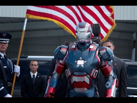 watch - Watch the first official Iron Man 3 trailer. Marvel's Iron Man 3 - coming to UK cinemas April 24th 2013, starring Robert Downey Jr. In Marvel's