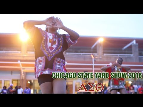 Deltas @ Chicago State Yard Show 2016 [ Crowd View] (видео)