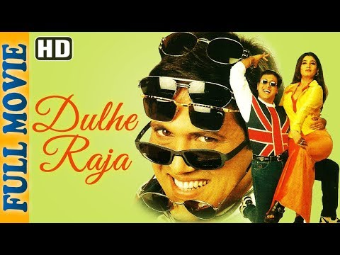 Dulhe Raja (HD) - Full Movie - Govinda - Raveena Tandon - Johnny Lever- Superhit Comedy Movie