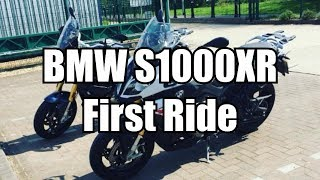 10. 2015 BMW S1000XR -  Low Suspension - First Ride