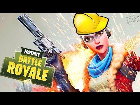 ВООРУЖЕННЫЕ СТРОИТЕЛИ и не совсем голодные игры - Fortnite Battle Royale