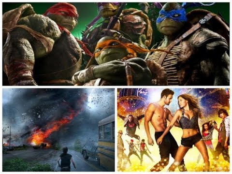 AJ's Movie Reviews: Teenage Mutant Ninja Turtles, Step Up All-In, Sharknado 2 & More!(8-9-14)