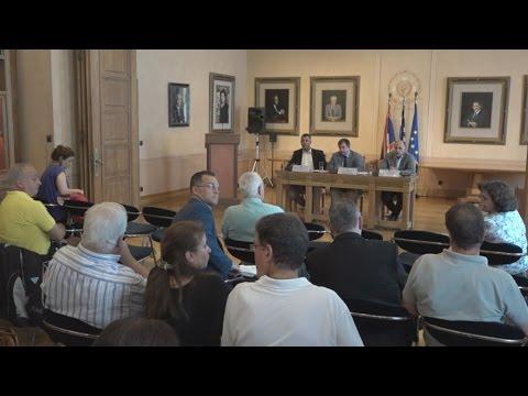 Συνέντευξη Τύπου δημάρχου Αθηναίων Γιώργου Καμίνη