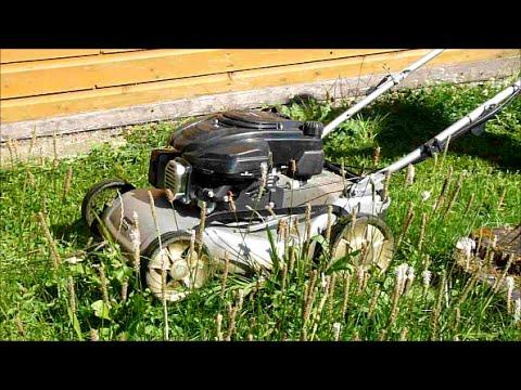 Test Einhell / Royal BG-PM 46 SE, endlich Rasenmäher mit Antrieb!    # Radantrieb